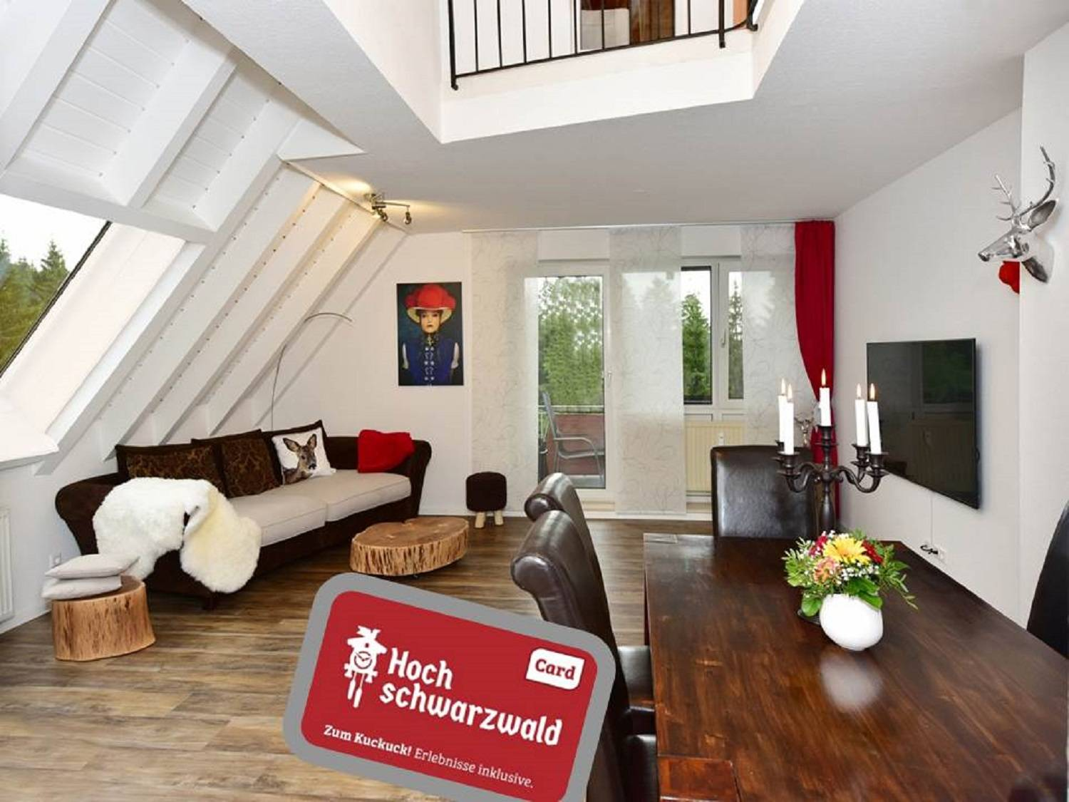 Holiday Apartment Black Forest Bollenhut Deluxe